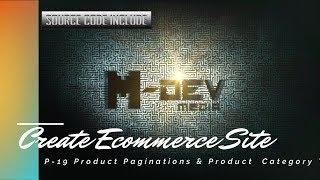 P-19 Produkt Seitenumfang & Produkt-Kategorie - Tabs- Erstellen E-Commerce-Website-Tutorial