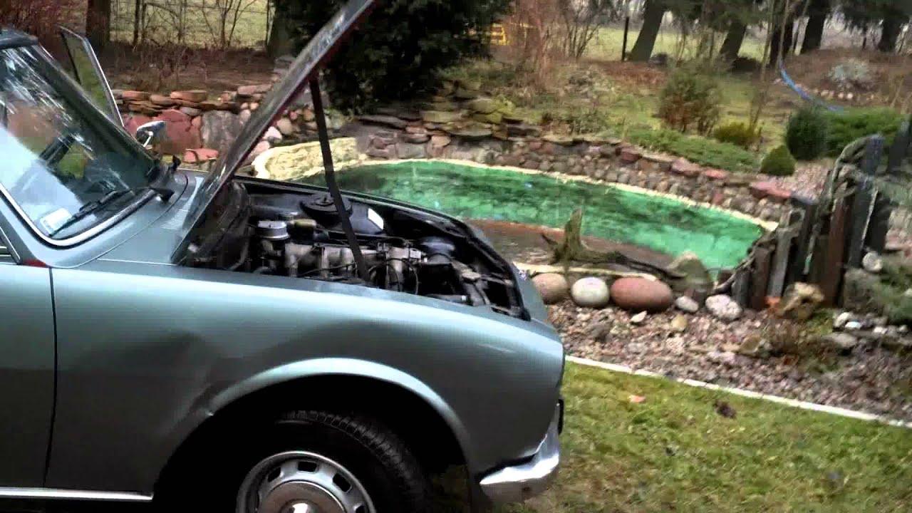 Peugeot 504 Ti 1977r Poland Youtube