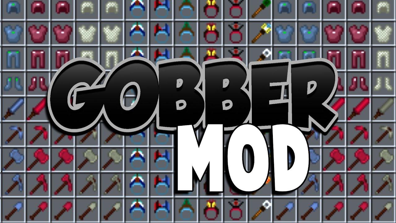 GOBBER Mod! World of forge mods minecraft 1 14 4