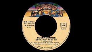 Donna Summer ~ Theme From The Deep (Down, Deep Inside) 1977 Disco Purrfection Version
