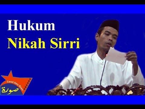 Ust Abdul Somad Lc, MA | Hukum Nikah Siri