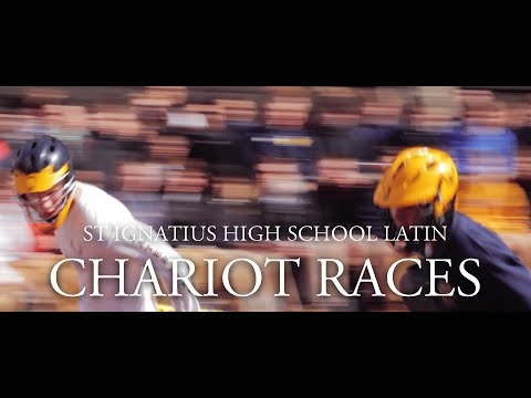 St Ignatius High School Latin Chariot Races 2016