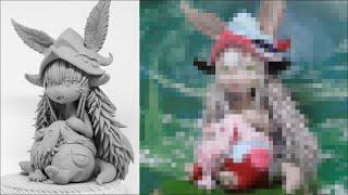 【メイドインアビス】ナナチ&ミーティのフィギュアを作ってみた -塗装編- 【粘土】the Making of Nanachi&Mitty Figure -Made in Abyss-