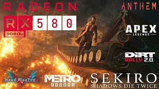 RX 580 8GB In 2019! --- Testing 6 Games at 1080p in 2019