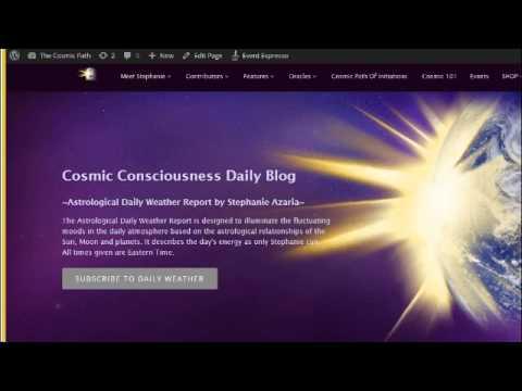 Cosmic Consciousness Daily by Stephanie Azaria 4-22-2015 {Cosmonaut}