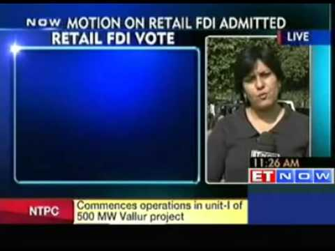Parliament to vote on FDI in retail, outcome non-binding on govt