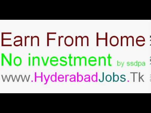 Hyderabad jobs Hyderabad Work at home