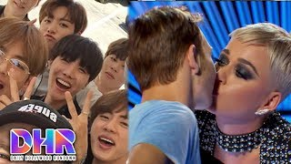 BTS Documentary Trailer!! - Katy Perry Kissed Contestant Without Consent! (DHR)