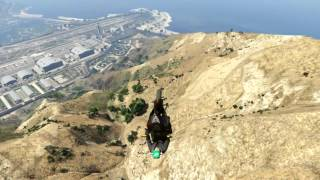 GTA 5- My best stunt?!