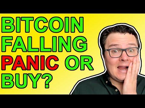 Bitcoin & Crypto Prices Falling!