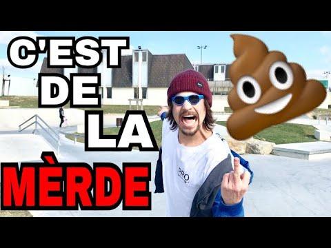 HORRIBLE TEST du SKATEPARK le PLUS NUL du MONDE !! (France) 😡💩
