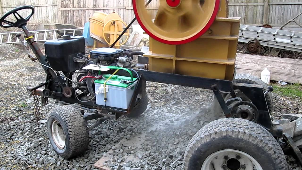how to build a jaw crusher