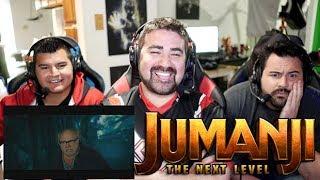 Jumanji: The Next Level Angry Trailer Reaction!