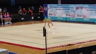 Doğa Coşanay 18.06.2017 Aerobik Cimnastik 17.350