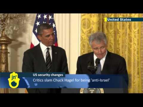 Obama names Chuck Hagel: critics slam Pentagon nominee for 'Jewish lobby' comments