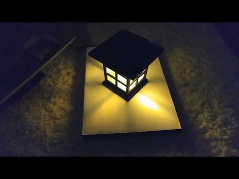 KODOO / YUNLIGHTS 8 Pack Solar Pathway Outdoor Garden Lights Unboxing and Quick Review