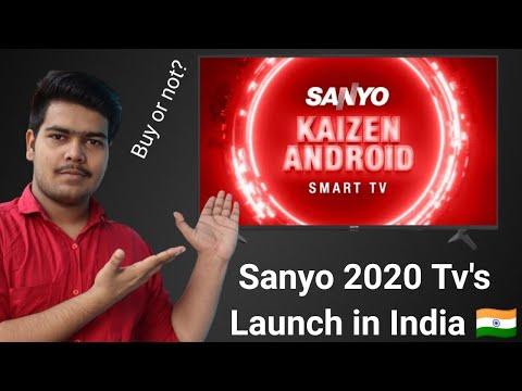 Sanyo Kaizen 2020 Smart Tv's Launched in India 🇮🇳  🔥| Buy or not? || Sanyo VS Vu VS Hisense