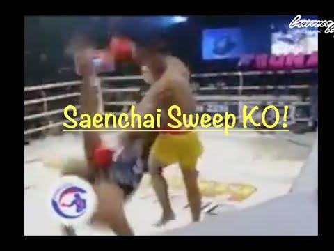 Moments of Brilliance: Saenchai's Sweep KO