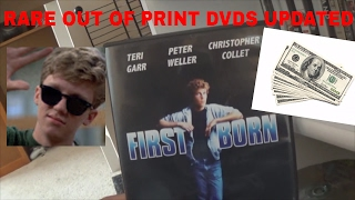 RARE OUT OF PRINT DVDS 2017