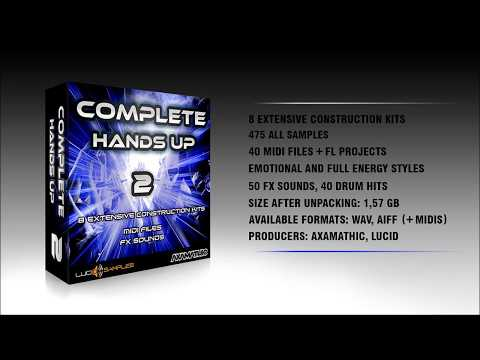 Complete Hands Up Vol. 2 - Construcion Hands Up Samples Preview