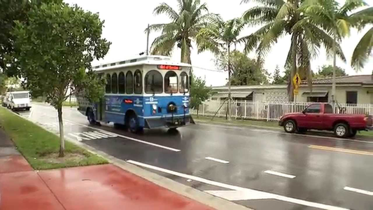 Free Miami Beach Trolley Begins North Service October 29