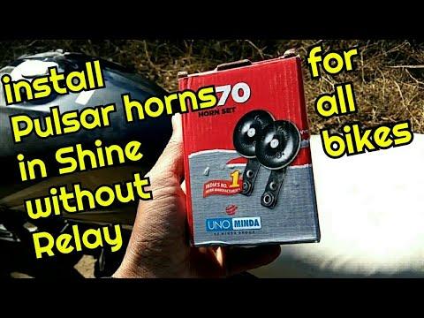 Install Pulsar horns in Shine