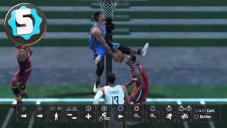 Top 10 Alley Opp sur NBA 2K16