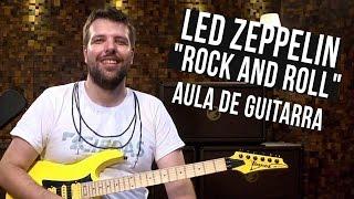 led zeppelin rock and roll como tocar aula de guitarra