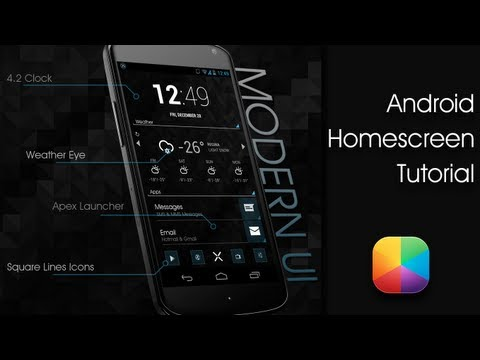 Beautiful Best Android Home Screen Designs Ideas - Decoration ...