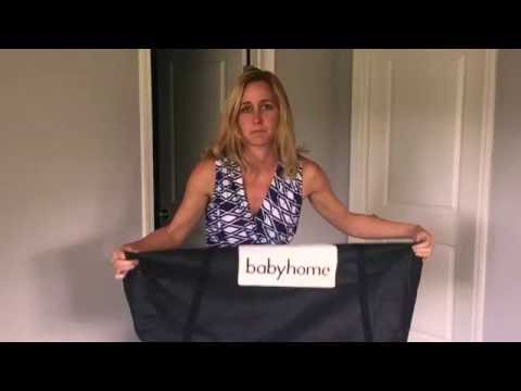Babyhome Air Bassinet Review