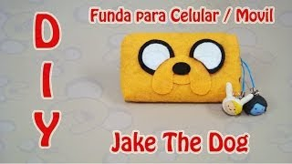FUNDA PARA CELULAR | JAKE THE DOG / EL PERRO | ADVENTURE TIME | DIY | MANUALIDADES - YuureYCrafts