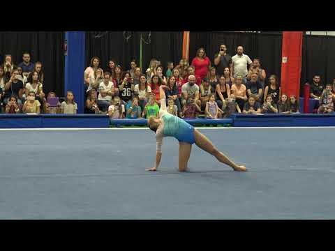 Morgan Hurd - Floor Exercise - 2019 Women's Worlds Team Selection Camp