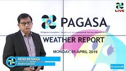 Public Weather Forecast Issued at 4:00 AM April 1, 2019