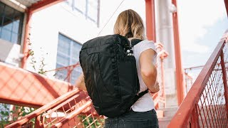 VEER 18L Packable Backpack | Inflatable Structure and Protection