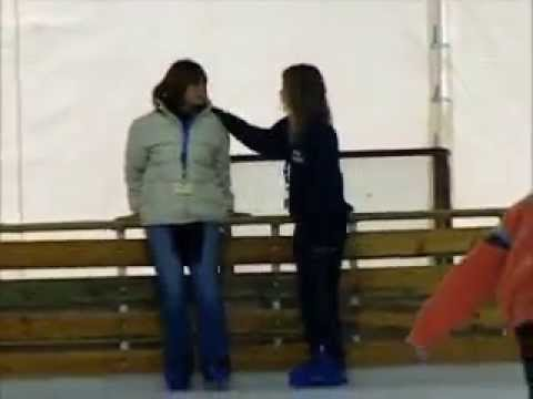 Linda Sofia Ice skating-Patinaz 1-2-2009 Ioannina