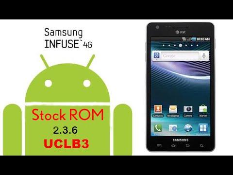 Instalar Stock ROM (Gingerbread 2.3.6) Samsung Infuse 4G i997