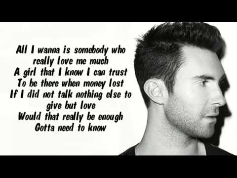 Locked Away Lyrics - Adam Levine & R. City