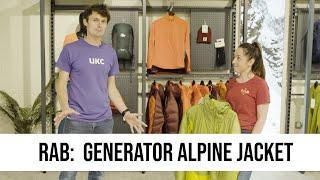 SPOTLIGHT: Rab - Generator Alpine Jacket