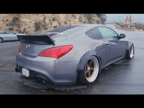 The COP MAGNET Widebody Genesis Coupe 2.0 Turbo Review