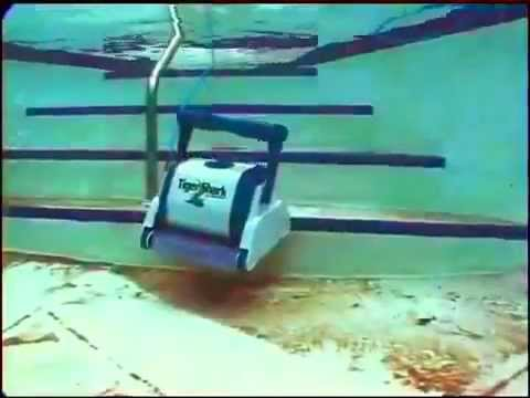 tigershark robot automatic pool youtube. Black Bedroom Furniture Sets. Home Design Ideas
