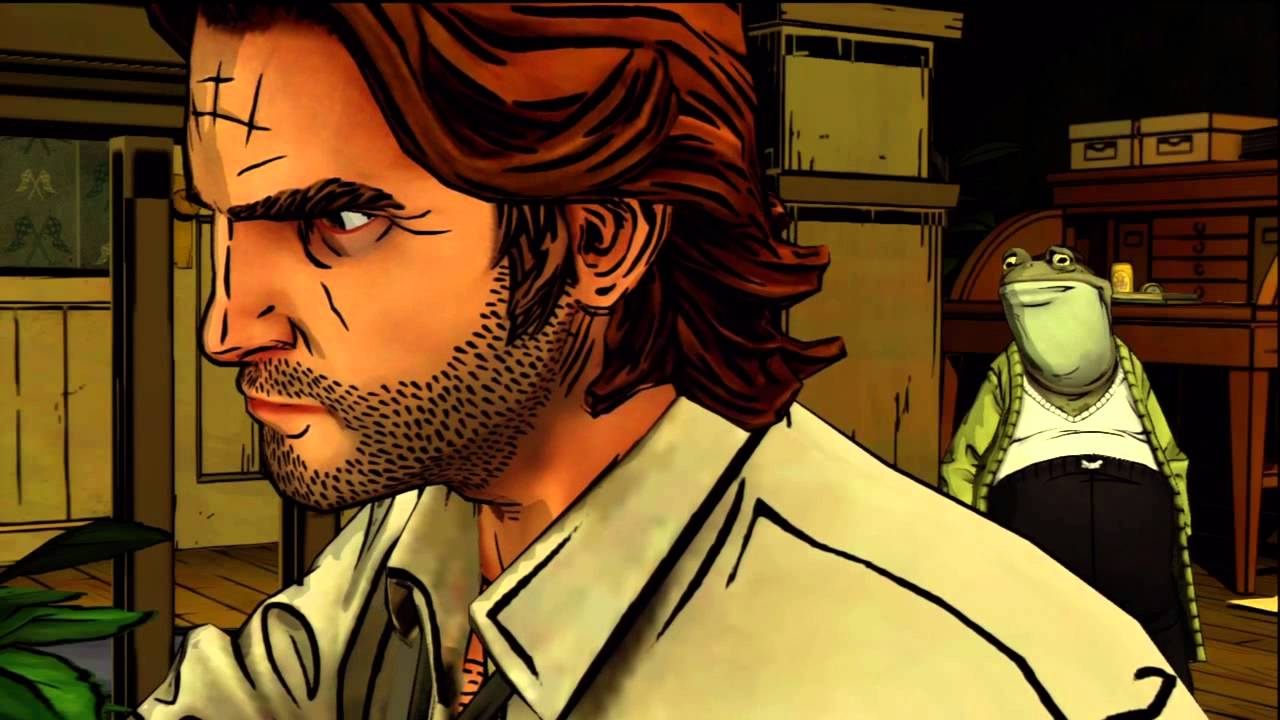 The Wolf Among Us Episode 1 Faith   Chapter 5 Toad's Apartment Paragon Playthrough