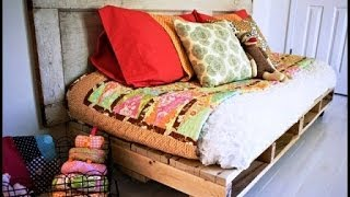 Диван своими руками, как сделать за 1 час(Как сделать диван.Этот проект для тех, кто заинтересован поставить в дачный домик самодельный диван или..., 2014-06-19T08:46:58.000Z)