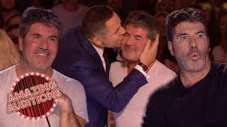 SIMON COWELL'S Best GOLDEN BUZZERS From Britain's Got Talent  | Amazing Auditions