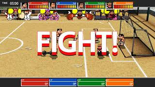 River City Melee Battle Royal Special SP Story Mode Kunio