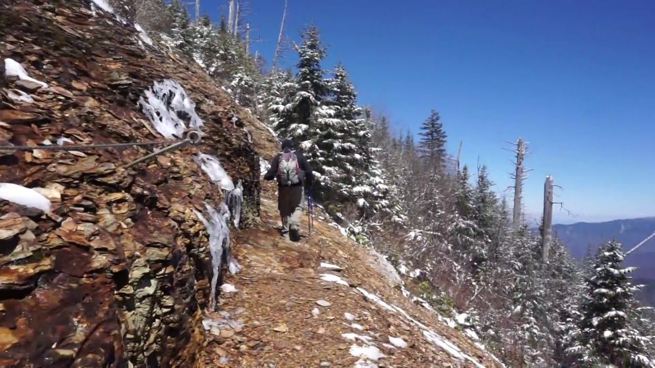Great Smoky Mountains Boulevard Trail to Mount LeConte ...