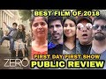 Zero Movie PUBLIC Review | First Day First Show | Best Film Of 2018 | Shah Rukh Khan Mp3