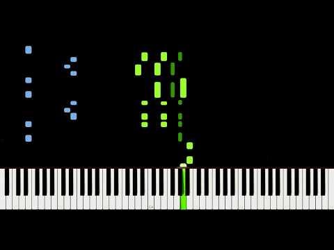 Michael Jackson - The Way You Make Me Feel [Piano Tutorial] Synthesia
