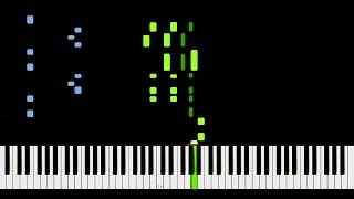 Michael Jackson - The Way You Make Me Feel [Piano Tutorial] Synthesia