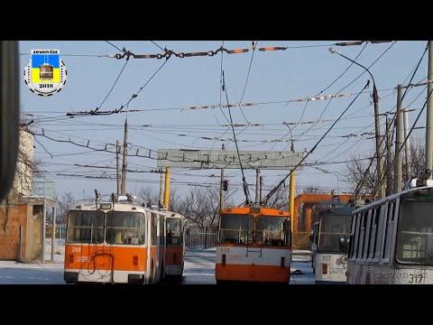 Черкасский троллейбус- Первые приколы 02.01.2016