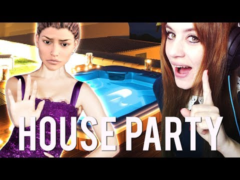 HOUSE PARTY #07 - UPDATE: WHIRLPOOL + MADISON ERPRESSEN! ● Let's Play House Party